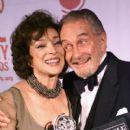 Dixie Carter & Roy Dotrice at The Tony Awards - 400 x 592