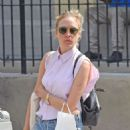 Chloe Sevigny In Shorts Out In New York City