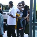 Kylie Jenner and Tyga spotted departing on a flight in Costa Rica on January 30, 2017 - 451 x 600