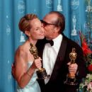 Helen Hunt and Jack Nicholson At The 70th Annual Academy Awards (1998) - 454 x 705