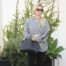 Holly Madison Leaves Lancer Dermatology in Beverly Hills - 454 x 684