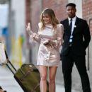 Elizabeth Olsen – Leaving Jimmy Kimmel Live! in Hollywood