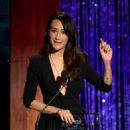 Maggie Q arrives at PETA's 35th Anniversary Party at Hollywood Palladium on September 30, 2015 in Los Angeles, California
