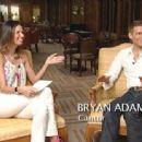 Luciana Gimenez and Bryan Adams