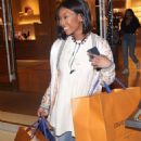 Brandy Norwood – Shopping in Beverly Hills - 454 x 704