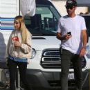 Emma Roberts – On the set of 'American Horror Story' in Los Angeles