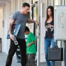 Megan Fox And Brian Austin Green Picking Up His Son From Karate Class 2 - 454 x 544