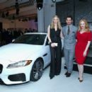 David Gandy-March 31, 2015-Jaguar Land Rover Exclusive Reception To Celebrate 2015 New York Auto Show