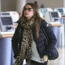 Sofia Vergara departing on a flight at LAX airport in Los Angeles, California on December 7, 2012