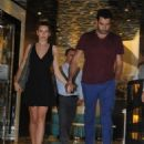 Sinem Kobal & Kenan Imirzalioglu : night out (August 21, 2016) - 454 x 566