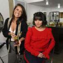 Vanessa Hudgens–Holiday Hair with Joico in LA