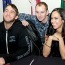 C.M. Punk and AJ Lee