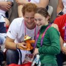 Prince Harry at the 2012 London Paralympics (September 4)