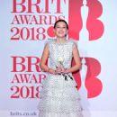 Millie Bobby Brown – 2018 Brit Awards in London