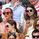 Maisie Williams and Diana Silvers – Wimbledon Tennis Championships 2019 in London - 454 x 337
