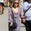 Dianna Agron: out shopping in NYC