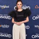 Olivia Sanabia – Posing at 'Onward' Premiere in Hollywood - 454 x 698