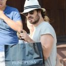 Nikki Reed and Ian Somerhalder out in Venice - 454 x 722