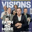 Faith No More - VISIONS Magazine Cover [Germany] (May 2015)