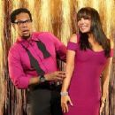 Cheryl Burke and D.L. Hughley