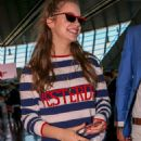 Barbara Palvin – Spotted at Nice Airport