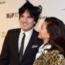 Tommy Lee and Sofia Toufa attend Glazer Palooza and Suits and Sneakers on February 3, 2016 in San Francisco, California. - 398 x 600