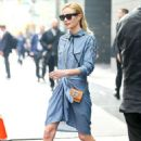 Kate Bosworth Leaving her hotel in New York City