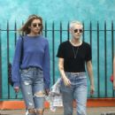 Kristen Stewart and Stella Maxwell out in New Orleans - 454 x 681