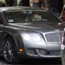 Jennifer Aniston - Driving Her Bentley And Getting Angry In Traffic In Beverly Hills, California - February 22, 2010