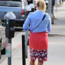 Actress and busy mom Reese Witherspoon is spotted out and about in Brentwood, California on June 25, 2015