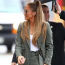 Jennifer Lopez – Arrives at 'Jimmy Kimmel Live!' in Hollywood
