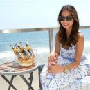 Jamie Chung celebrated the launch of her website, WhatTheChung.com, at a Strongbow-sponsored bash at the Revolve Clothing Beach House in Malibu, Calif., on July 6, 2013 - 454 x 363