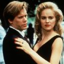 Kevin Bacon and Sharon Stone