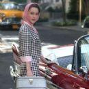 Rachel Brosnahan – Filming 'The Marvelous Mrs Maisel' Season 2 in NY
