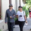 Gene Simmons shops with his wife (March 8, 2013)