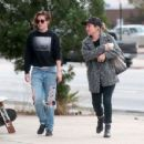 Kristen Stewart Street Style Out In La
