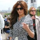 Cheryl Cole: does some sight-seeing in Paris