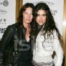 Francesca Gregorini and Ann Eysenring at Brokeback Mountain premiere