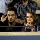 Natalie Portman and Nathan Bogle