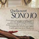 Isabelle Huppert – Grazia Magazine (April 2018) - 454 x 582