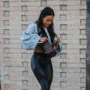 Karrueche Tran – Hot in Leggings While Out For Lunch In LA