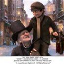 Ebenezer Scrooge (Jim Carrey) and Tiny Tim (Gary Oldman) stars in DISNEY'S A CHRISTMAS CAROL. ©ImageMovers Digital LLC. All Right Reserved.
