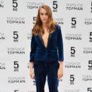 Model Cara Delevingne attends Topshop Topman Flagship Store grand opening on November 5, 2014 in New York City