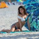 Isabeli Fontana – Bikini Photoshoot in Miami Beach - 454 x 303