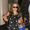 Natalie Portman arriving at LAX airport in Los Angeles, CA (September 19)