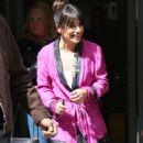 Lea Michele Leaving BBC Radio 2 studios in London - 454 x 889