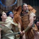 (L-r) ALEXA DAVALOS as Andromeda and MADS MIKKELSEN as Draco in Warner Bros. Pictures' and Legendary Pictures' 'Clash of the Titans,' distributed by Warner Bros. Pictures. Photo by Jay Maidment