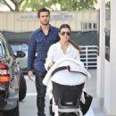 Kourtney Kardashian: hit the shops on Rodeo Drive in Beverly Hills
