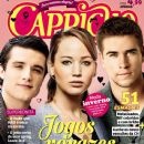 Josh Hutcherson, Jennifer Lawrence, Liam Hemsworth, The Hunger Games - Capricho Magazine Cover [Brazil] (8 April 2012)