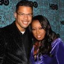 Star Jones and Al Reynolds Photograph - 434 x 594